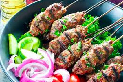 Beef Kebob Dinner