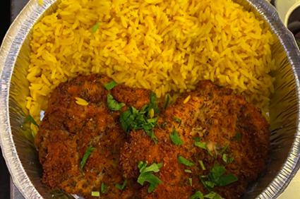 Chicken Schnitzel Dinner