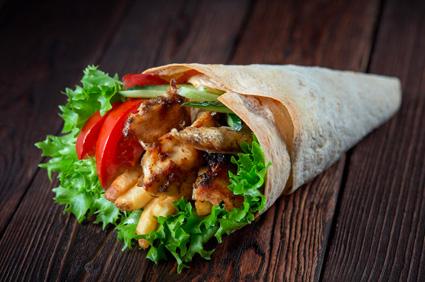 Chicken Shawarma (Laffa)