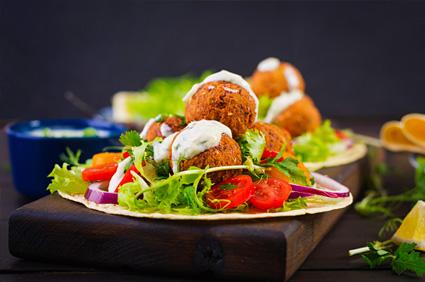 Falafel (6 Balls) Dinner