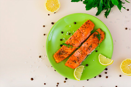 Oven Roasted Salmon Dinner