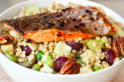 Pan Fried Trout Bowl